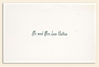 "2"" x 3.5"" Standard Calling Cards"