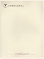 Standard Engraved Letterhead