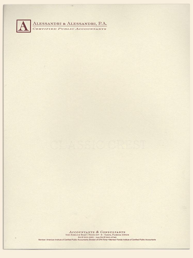bradley engraved stationery business stationery letterhead