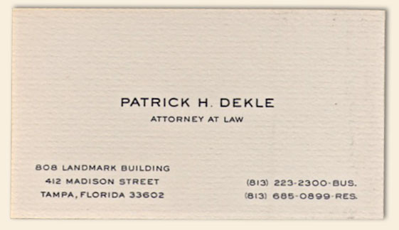 Bradley Engraved Stationery :: Business Stationery